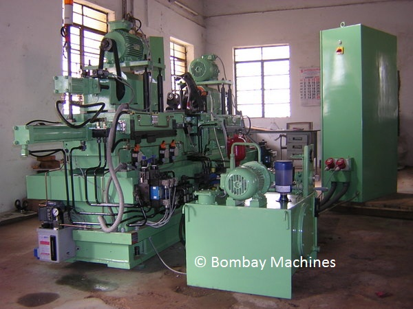 KNUCKLE JOINT BORING AND GROOVING MACHINE
