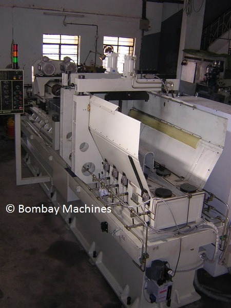 GUN DRILLING MACHINE FOR V ENGINE BLOCK