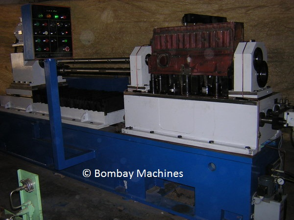 CAM AND CRANK BORE BORING MACHINE